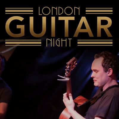 From the London Guitar Night Green Room