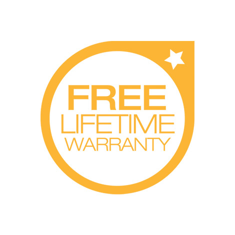 Free Lifetime Warranty